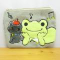 カエルのピクルス(かえるのピクルス) バッグポーチシリーズ ピクルス アート ティッシュポーチ