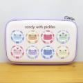 カエルのピクルス(かえるのピクルス) 通勤通学に便利な雑貨シリーズ ピクルス にじいろキャンディ ガジェットポーチ