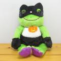カエルのピクルス(かえるのピクルス) HALLOWEEN ピクルス ハロウィン ビーンドール 黒猫マスク