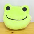 カエルのピクルス(かえるのピクルス) リール付きキーマスコット(グリーン)