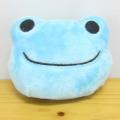 カエルのピクルス(かえるのピクルス) リール付きキーマスコット(ブルー)