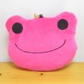 カエルのピクルス(かえるのピクルス) ぬいぐるみパスケース(ピンク)