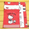 サンリオ ハローキティ(Hello Kitty) 3P巾着 BOX ハローキティ