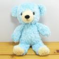 童心 日本製オリジナル くまのぬいぐるみ フカフカシリーズ クマのフカフカ Sサイズ アクア