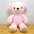 童心 日本製オリジナル くまのぬいぐるみ フカフカシリーズ クマのフカフカ Mサイズ ユニコーン・ピンク