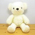 童心 日本製オリジナル くまのぬいぐるみ フカフカシリーズ クマのフカフカ Mサイズ ノスタルジーク・クリーム