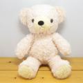 童心 日本製オリジナル くまのぬいぐるみ フカフカシリーズ クマのフカフカ Mサイズ ノスタルジーク・ローズ