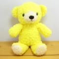 童心 日本製オリジナル くまのぬいぐるみ フカフカシリーズ クマのフカフカNEW Sサイズ たんぽぽ