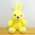 童心 日本製オリジナル うさぎのぬいぐるみ フカフカシリーズ ウサギのフカフカNEW Sサイズ たんぽぽ