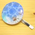 『バーグ限定品』 手作り雑貨 レジンアクセサリー ポニーフック 海色のポニーフック