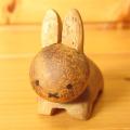 ディック・ブルーナ アニマル木製箸置き うさぎ(茶)