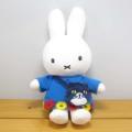 ディック・ブルーナ ミッフィー&キャットシリーズ(miffy and cat) ぬいぐるみ 【ミッフィー ぬいぐるみ】