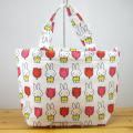 ディック・ブルーナ ミッフィー&チューリップ(miffy and tulips) 転写ランチバッグ ミッフィー チューリップ パターン
