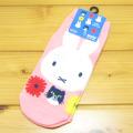 プリントソックス キャラックス ディック・ブルーナ ミッフィー&キャットシリーズ(miffy and cat) ソックス(フラワーPK)