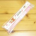 くまのがっこう 箸&ケース18cm(ジャッキーとソフトクリームおばけ)