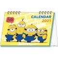 MN2(ミニオンズ2) デスクカレンダー 【2021年 カレンダー】