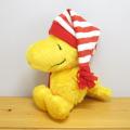PEANUTS(ピーナッツ) スヌーピー(SNOOPY) Winter Cap Plush 帽子 ぬいぐるみS(ウッドストック)