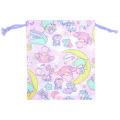 サンリオ キキ&ララ(ツインスターズ) 巾着S ピンク