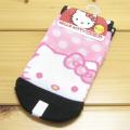 サンリオ ハローキティ(Hello Kitty)  キッズソックス ドットフェイス 黒