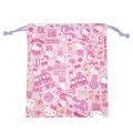 サンリオ ハローキティ(Hello Kitty) 巾着S ピンク