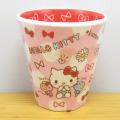 サンリオキャラクターズ ハローキティ(Hello Kitty) Wプリントメラミンカップ チラシ