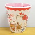 サンリオキャラクターズ ハローキティ(Hello Kitty) Wプリントメラミンカップ おやつ