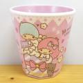 サンリオキャラクターズ リトルツインスターズ(キキ&ララ) Wプリントメラミンカップ おやつ