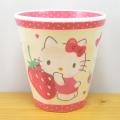 サンリオキャラクターズ ハローキティ(Hello Kitty) Wプリントメラミンカップ ハピネスガール