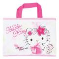 キャラクター キルトレッスンバッグ サンリオ ハローキティ(Hello Kitty) チェック