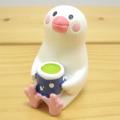 DECOLE(デコレ) concombre(コンコンブル) まったりマスコット お花見シリーズ 日本茶文鳥