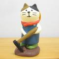 DECOLE(デコレ) concombre(コンコンブル) まったりガーデンシリーズ 農夫猫