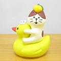 DECOLE(デコレ) concombre(コンコンブル) まったりゆず日和もぎたて 子猫とお風呂あひる