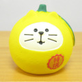 DECOLE(デコレ) concombre(コンコンブル) まったりゆず日和もぎたて フルーツ猫だるま ゆず