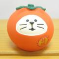 DECOLE(デコレ) concombre(コンコンブル) いもくりこんこん みのりの秋 フルーツ猫だるま 柿