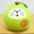 DECOLE(デコレ) concombre(コンコンブル) いもくりこんこん みのりの秋 フルーツ猫だるま 梨