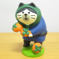 DECOLE(デコレ) concombre(コンコンブル) いもくりこんこん みのりの秋 柿どろぼう猫