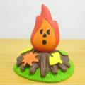 DECOLE(デコレ) concombre(コンコンブル) いもくりこんこん みのりの秋 落ち葉の焚き火