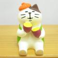 DECOLE(デコレ) concombre(コンコンブル) いもくりこんこん みのりの秋 焼き芋猫