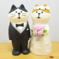 DECOLE(デコレ) concombre(コンコンブル) WEDDING ウェディングマスコット 洋装猫