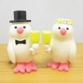 DECOLE(デコレ) concombre(コンコンブル) WEDDING ウェディングマスコット 乾杯文鳥