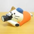 DECOLE(デコレ) concombre(コンコンブル) 旅猫登山部 三毛猫シャッターチャンス