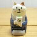 DECOLE(デコレ) concombre 旅猫 日本茶(三毛猫)