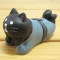 DECOLE(デコレ) concombre 旅猫 宿猫(黒猫)