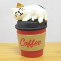 DECOLE(デコレ) concombre(コンコンブル) CHRISTMAS MARKET ぽかぽかコーヒー猫