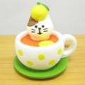 DECOLE(デコレ) concombre(コンコンブル) まったりゆず日和 ゆず紅茶猫