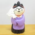 DECOLE(デコレ) concombre(コンコンブル) FUKU福MONO(フクモノ)シリーズ 猫神主