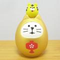 DECOLE(デコレ) concombre(コンコンブル) FUKU福MONO(フクモノ)シリーズ 開運カラー 福猫だるま・金