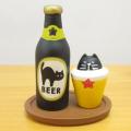 DECOLE(デコレ) concombre(コンコンブル) OBAKE JAZZ NIGHT at 三毛猫BAR 黒猫印ビールセット