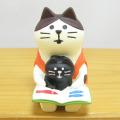 DECOLE(デコレ) concombre(コンコンブル) 本と文具 コンコン堂書店シリーズ 読み聞かせ猫