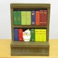 DECOLE(デコレ) concombre(コンコンブル) 本と文具 コンコン堂書店シリーズ すっぽり本棚